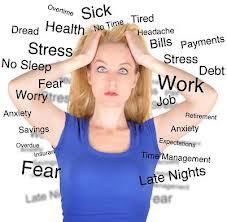 stressed lady