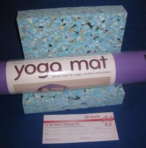mat + blocks package