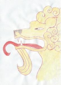 Simhasana painting