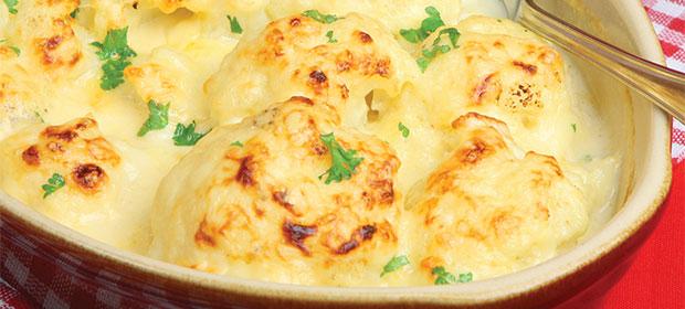 Cauliflower-cheese