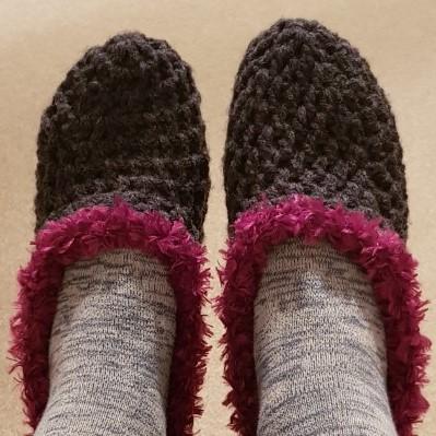 crochet slippers (2)