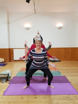Do Yoga! class at Ryhall Village Hall